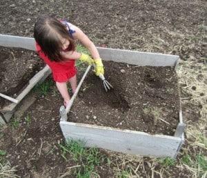 10 things child gardening