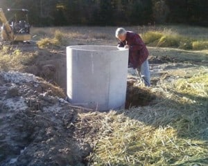 Surface Well - Water Harvesting cistern
