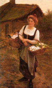 public domain the farm girl