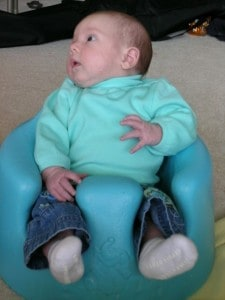 Our oldest daughter as a baby - one of the few photos we have of her back then!