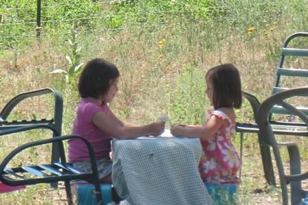 Farm Kids: Ballerina Girl and Little Rambo