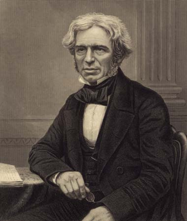 Michael Faraday Inventing Generators