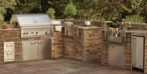 Built-in Barbecue Grills, Barbecue Grills Become More Refined