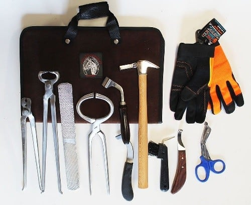 Complete Essential Farrier Tools Kits - Tools For the Professional Farrier