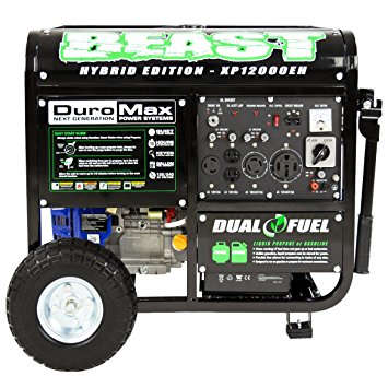 DuroMax Dual Fuel Portable Generator