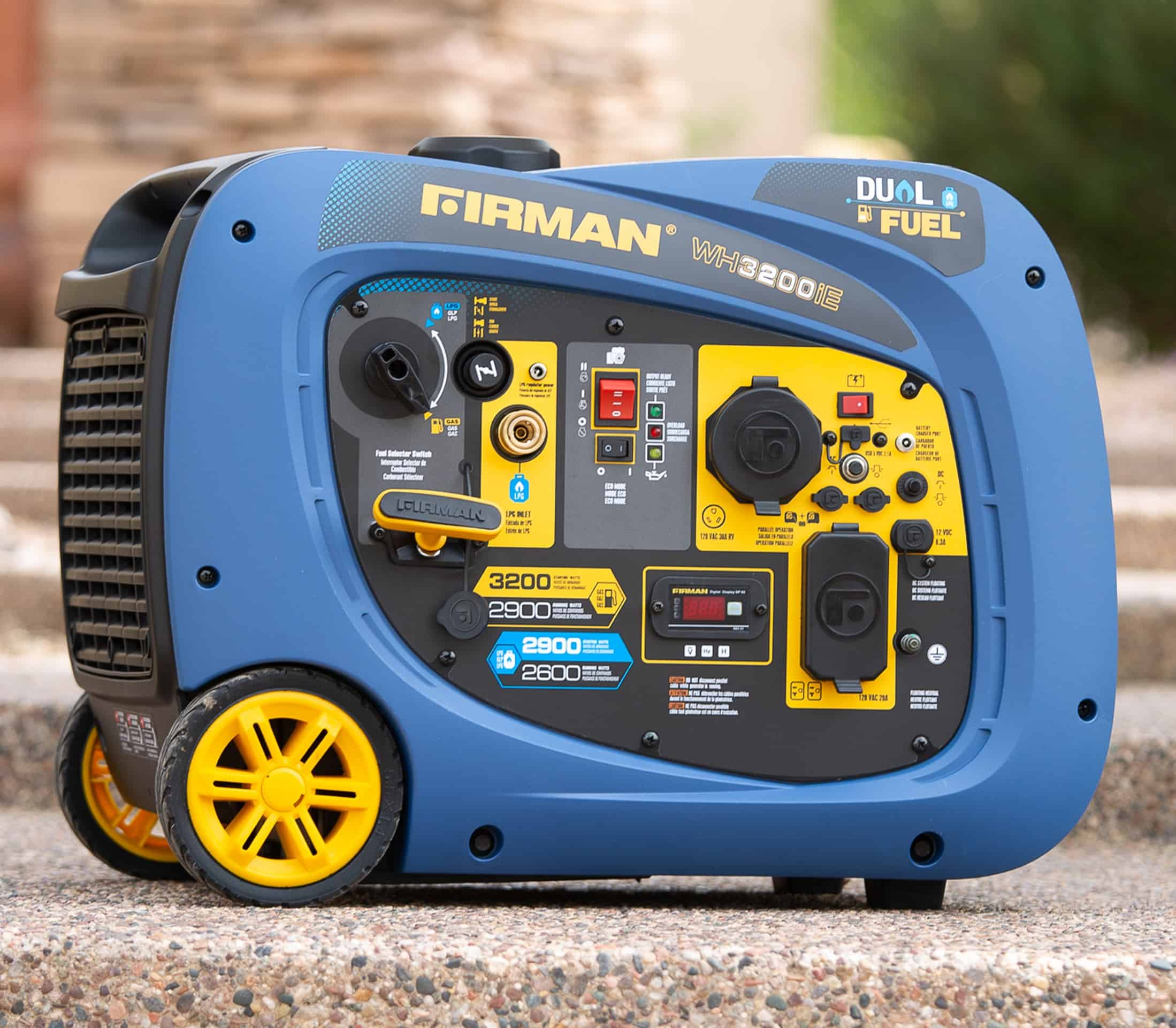 Firman Dual Fuel Inverter Generator