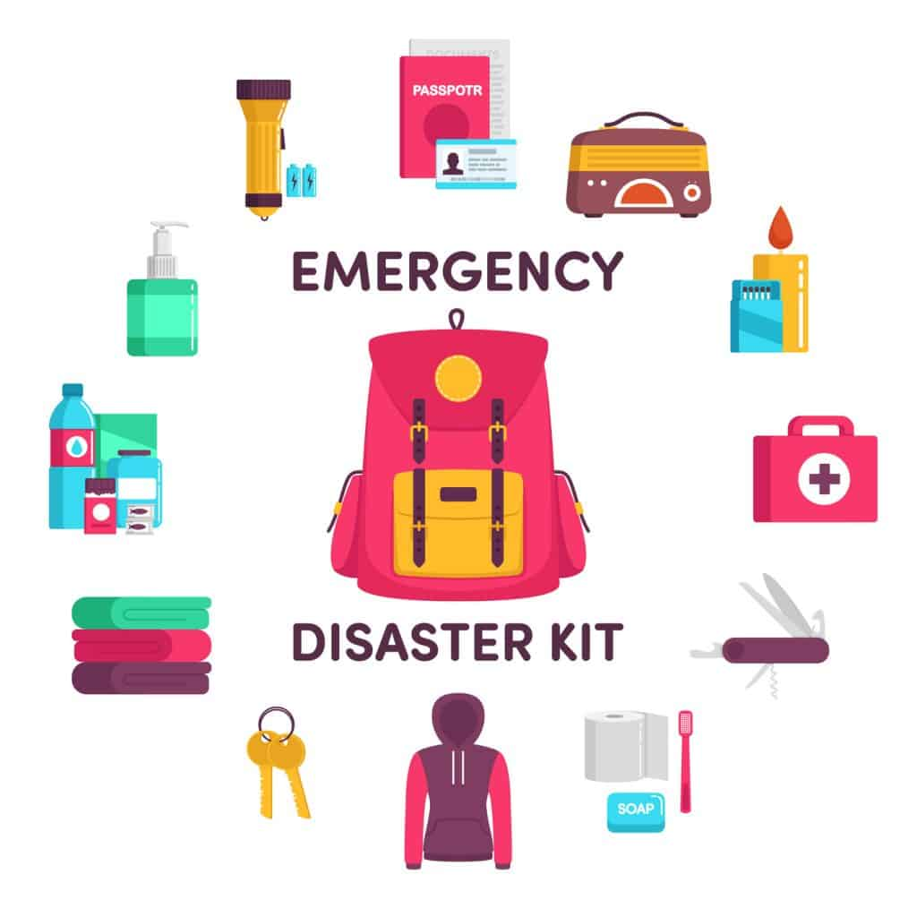 emergency supplies disaster kit