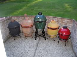 Multiple outdoor grillers