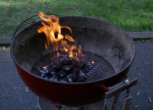 Light a Charcoal Grill