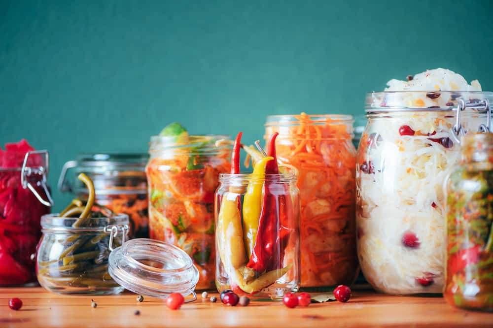 There are many fresh foods to can at home, including fruits, vegetables, and meats