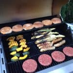 Prepare various foods on a barbeque grill