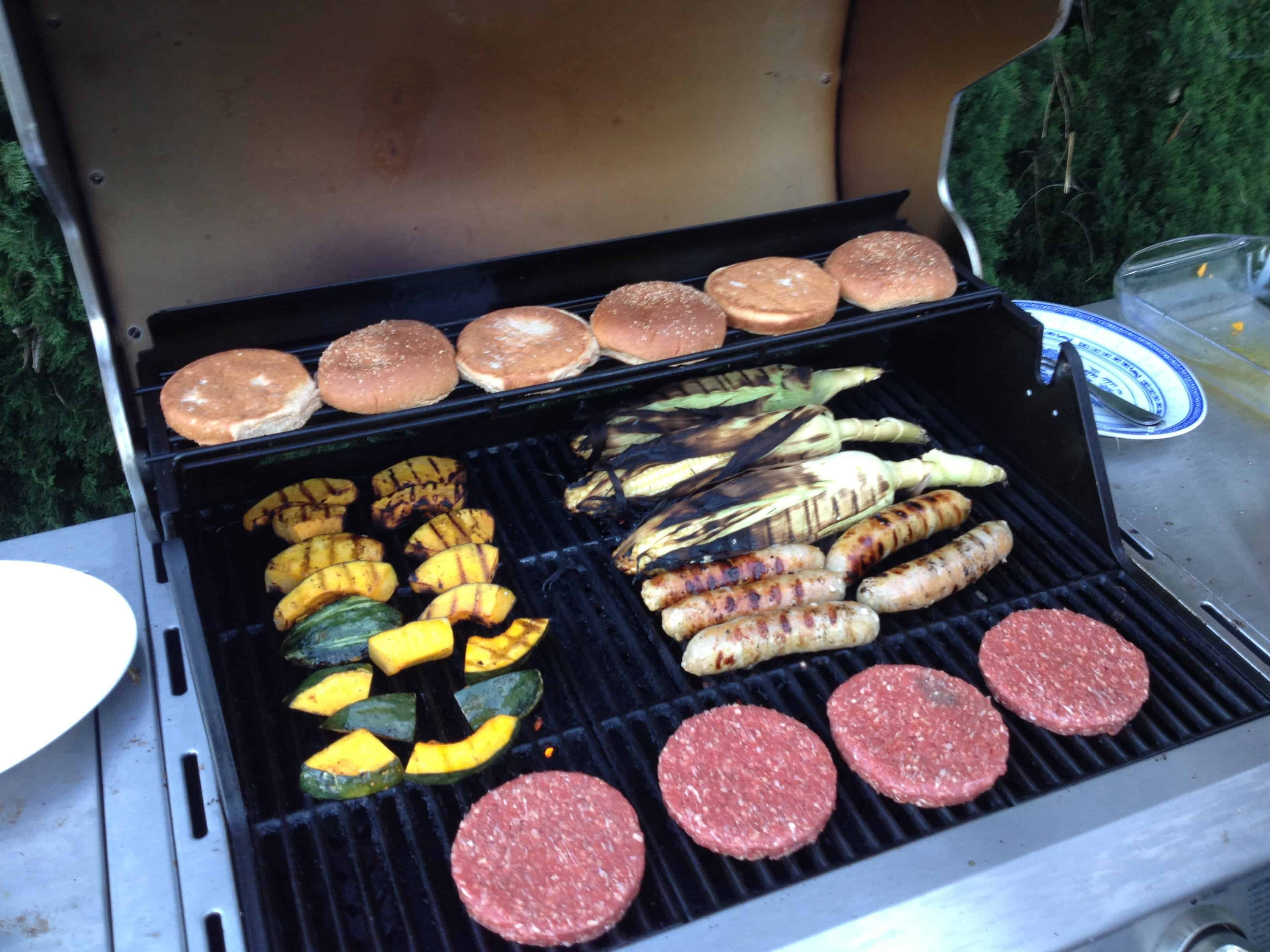 Prepare Varied Foods on a Grill